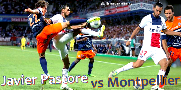 1�re journ�e de L1, Montpellier - Paris Saint-Germain : 1-1 (1-0)