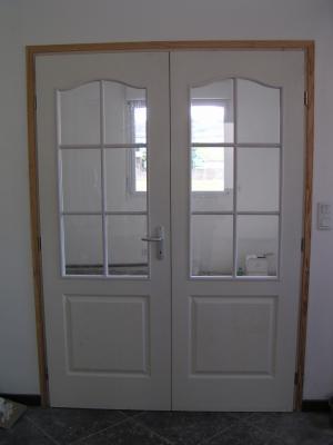 les portes vitr es du salon et de la cuisine la