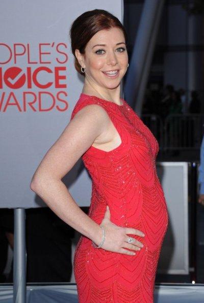 Alyson Hannigan enceinte
