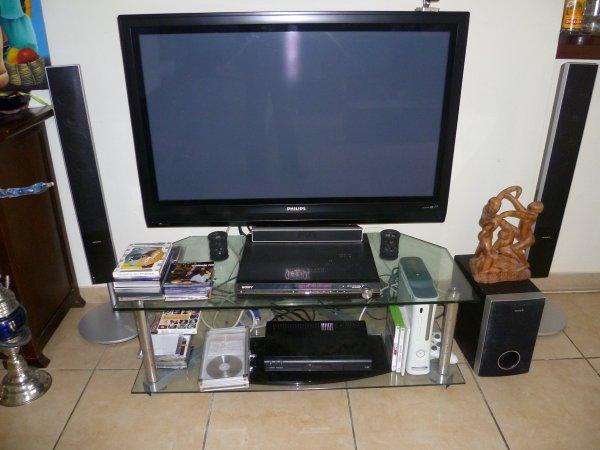Ecran plat meuble tv home cin ma vendu avendre973 - Meuble television ecran plat ...