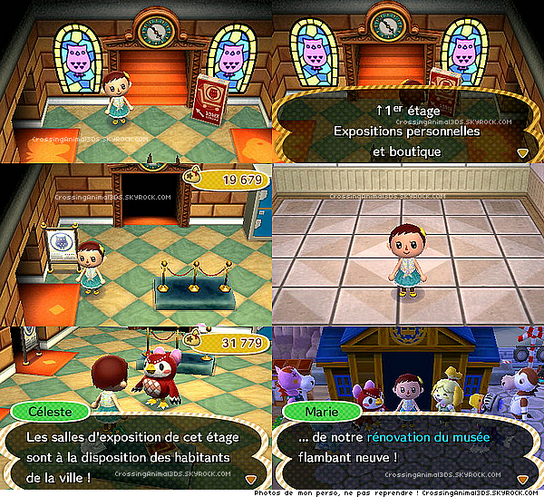 Comment avoir l etage du musee acnl for Agrandissement maison animal crossing new leaf
