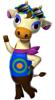 Pouvoir voir Carla dans Animal Crossing : New Leaf