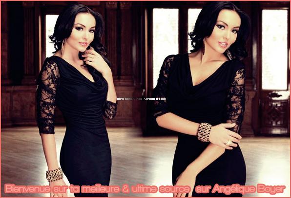 source sur la merveilleuse actrice Franco-Mexicaine Angelique Boyer ...