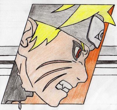 Naruto mes dessins - Naruto dessin couleur ...