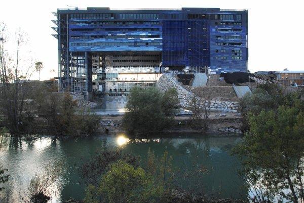 Hotel de ville de montpellier nouvelle mairie photo sm07 architecte jean nouv - Hotel de ville montpellier jean nouvel ...
