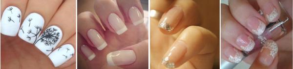 Nail art #2 Quelques idées nail art pour accorder son look dentelle : épurées, nacrées, discrètes, blanches, roses, strassées *-*