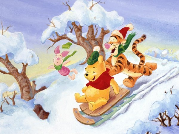 Joyeux no l winnie l 39 ourson - Winnie l ourson noel ...