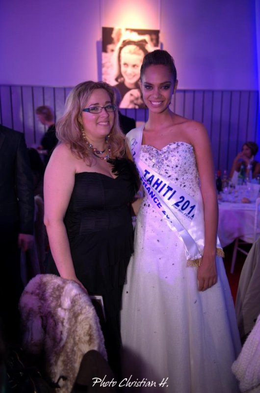 Hinarani de Longeaux - 1�re Dauphine de Miss France