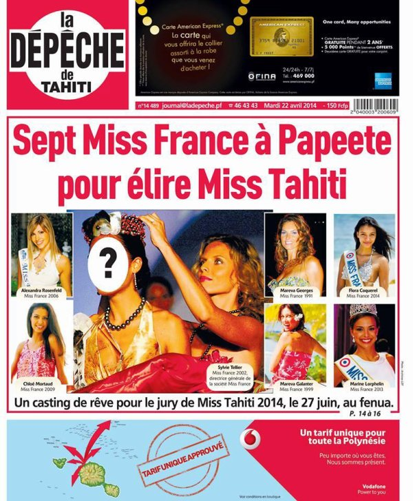 Miss France - Tahiti
