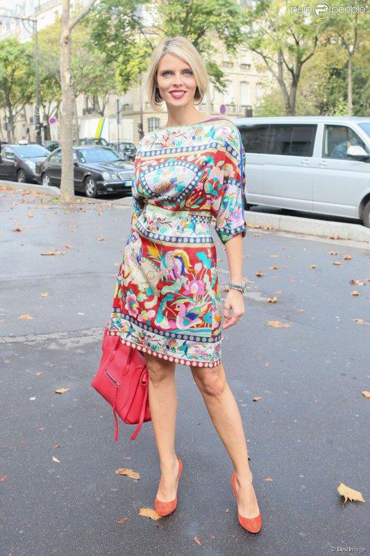 Flora Coquerel - D�fil� Leonard Paris