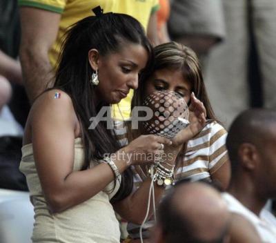 Wahiba et hayet france portugal coupe du monde 2006 wahiba et franck - France portugal coupe du monde 2006 ...