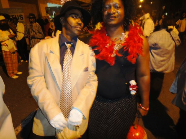 11 JANVIER 2013 LUNDI GRAS SAINT-FRAN�OIS : MARIAGE POUR TOUS A LA SAUCE BURLESQUE