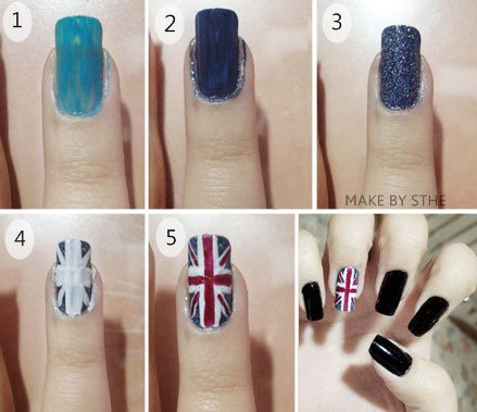 Articles de pretty fashion tagg s tuto nail art le blog mode beaut astuces - Tuto nail art debutant ...