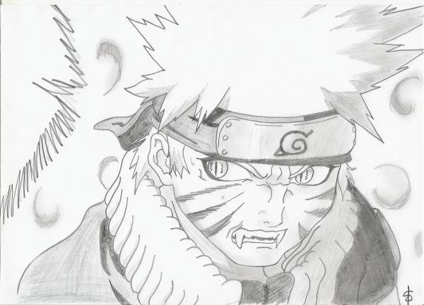 Apprendre a dessiner kyubi - Naruto dessin couleur ...