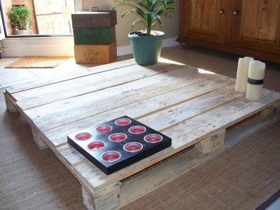 Blog de aldospirit page 3 aldospirit et ses peintures - Comment faire une table basse avec des palettes en bois ...