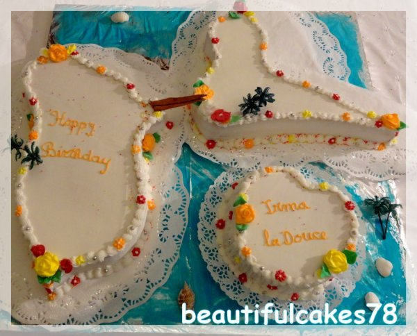 Cake Design Guadeloupe : Guadeloupe & Marie Galante - GATEAUX EXOTIQUES