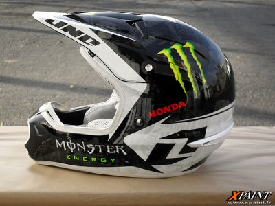 casque monster energy vive le motocross. Black Bedroom Furniture Sets. Home Design Ideas