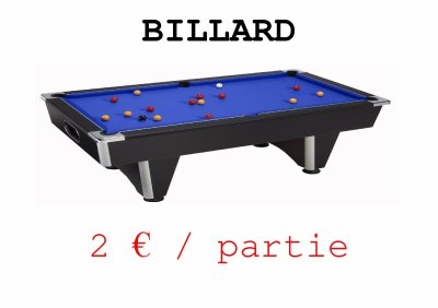 NOUVEAU BILLARD