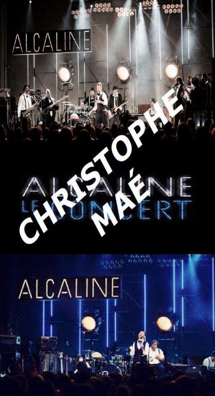 Alcaline, le Concert avec Christophe Maé - Le Théâtre du Trianon