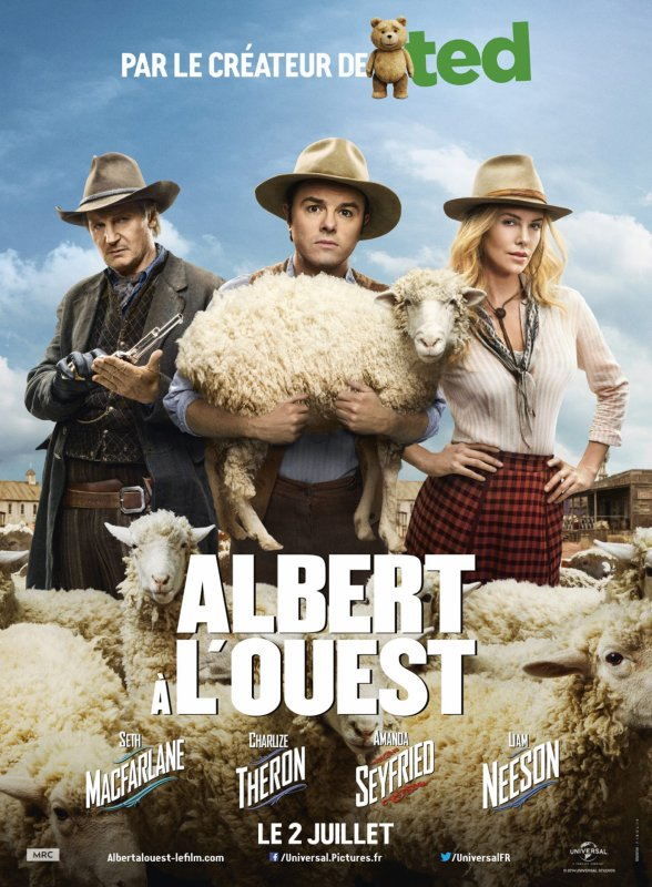 ALBERT � L'OUEST (A MILLION WAYS TO DIE IN THE WEST)