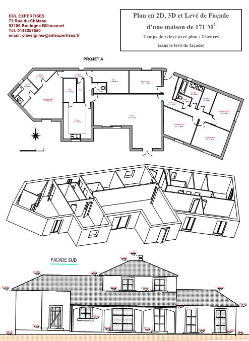 Plan maison 2d et 3d livraison appartement for Plan maison 2d