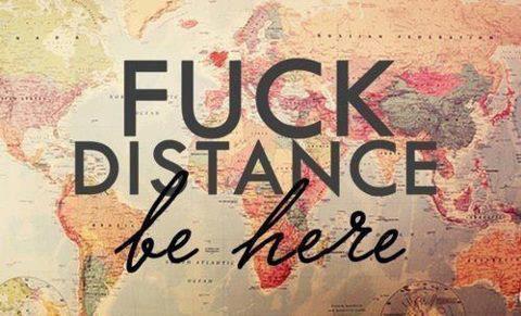 Sache que la distance, n'est qu'un tournant � ma d�pendance.