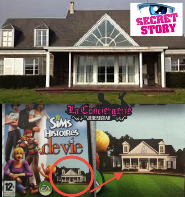 Photos la maison de ss8 a t plagi e sur celle des sims la concierger - Maison de secret story ...