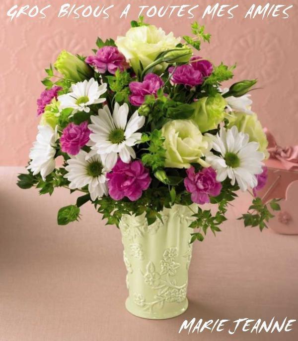 merci soeurette pour ce tres beau bouquet de fleurs. Black Bedroom Furniture Sets. Home Design Ideas