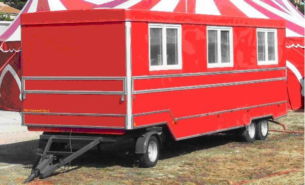 4817 caravane a vendre cirque circo circus zirkus. Black Bedroom Furniture Sets. Home Design Ideas