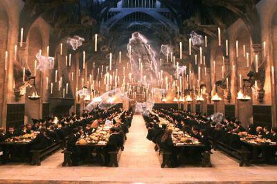 El gran comedor harry potter fan for Comedor harry potter