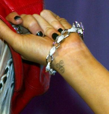 Symbole le monde merveilleux des tatouages - Petit tatouage main ...