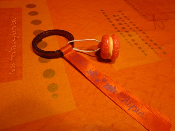 poste clefs macaron