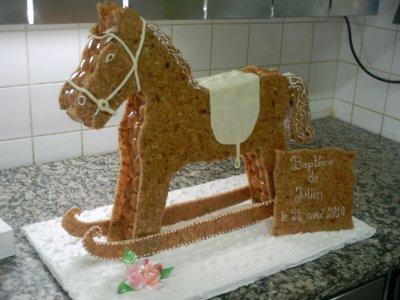 le cheval bascule le boulanger 51. Black Bedroom Furniture Sets. Home Design Ideas