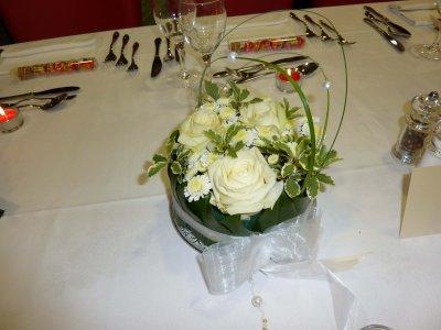 Centres de table mariage scrapmamiline - Centre de table fleur mariage ...