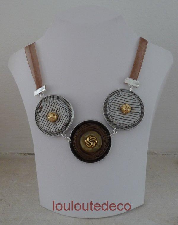 Collier capsules nespresso blog de louloutedeco - Decoration avec capsule nespresso ...