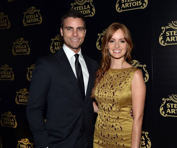 Ahna O'Reilly, la vice-pr�sidente mondial Stella Artois , Debora Koyama, et l'acteur Colin Egglesfield � l'�v�nement de lancement de Stella Artois calice en cristal dans Meatpacking District