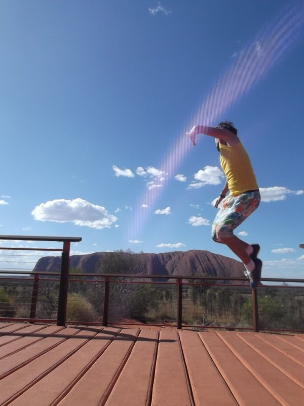 finallyyy Uluru,magique!!!!