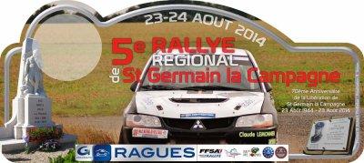 Rallye R�gional de Saint Germain la Campagne