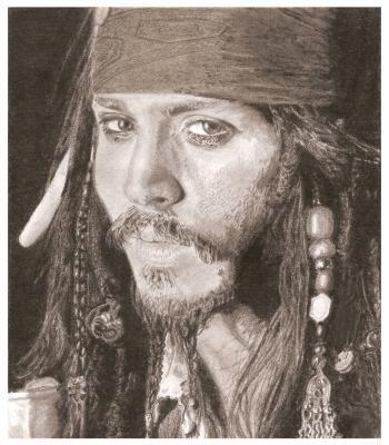 Johnny depp dessins de ganjira - Dessin johnny depp ...