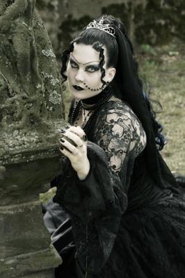 coiffeuse gothique