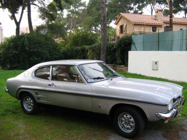 vente ford capri 2600 gt v6 1973 ma passion pour les courses automobiles. Black Bedroom Furniture Sets. Home Design Ideas