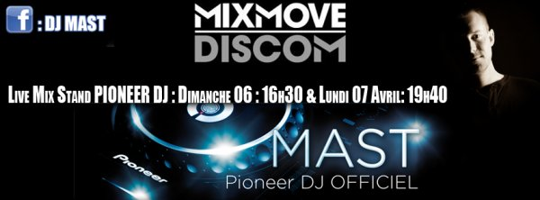 DJ MAST LIVE @ PIONEER DJ - MIX MOVE 2014