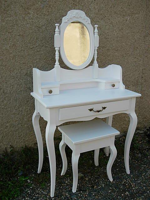 Articles de louis69400 tagg s coiffeuse romantique avec for Coiffeuse avec miroir et tabouret