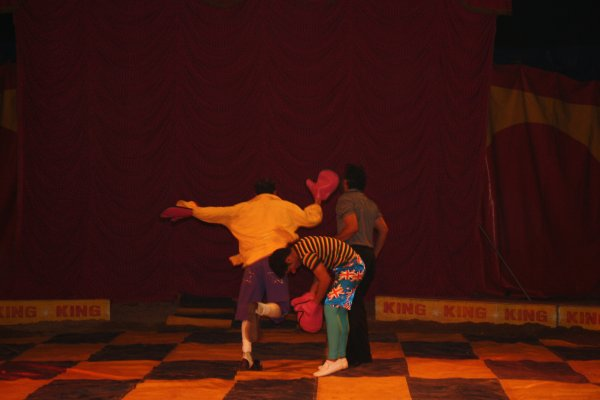 PAYASOS DEL CIRCO KING