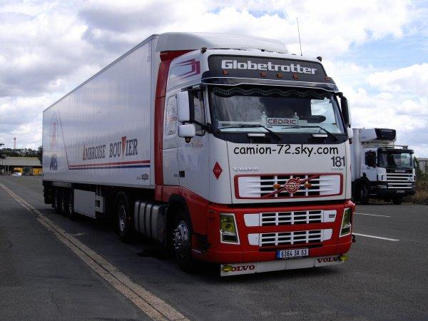 volvo fh 420 tps ambroise bouvier camion 72. Black Bedroom Furniture Sets. Home Design Ideas