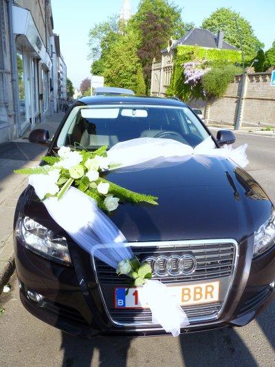 D coration voiture pour mariage le jardin d 39 yvan - Ventouse pour decoration voiture mariage ...
