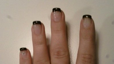 pose de capsule french gel noir faux ongles 36 blog de laetitia ongle extension. Black Bedroom Furniture Sets. Home Design Ideas