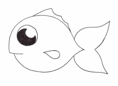 Blog de gingletheredfish 1001 fa ons de tuer gingle le poisson rouge - Dessin de poisson facile ...