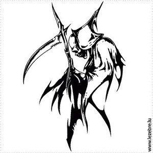 La faucheuse l 39 art du tatouage significations - Tatouage la faucheuse ...