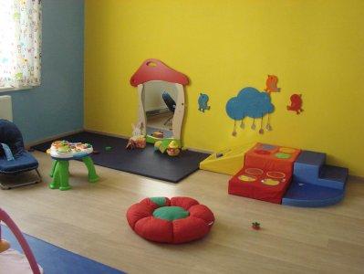 la salle de jeux b b. Black Bedroom Furniture Sets. Home Design Ideas